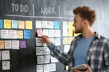 仕事を見える化するメリット・デメリットや具体例を解説!