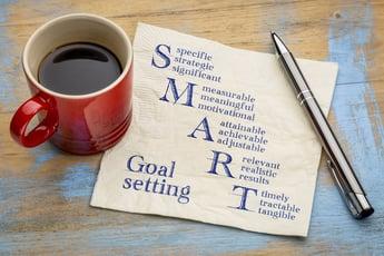 目標設定に役立つ!5つのポイントを押さえる「SMARTゴール」とは?